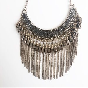 Free People l Bronze Statement Necklace